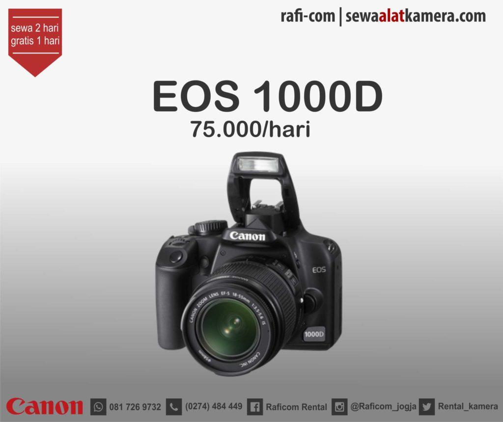 Review Canon 1000D cocok Buat Pemula