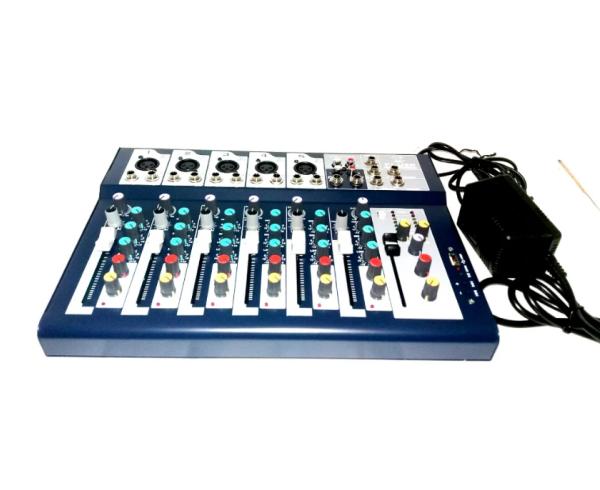 Rental Mixer Audio 7 Channel